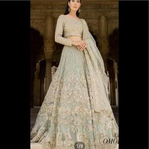 Pakistani women embroidered unstitched suit